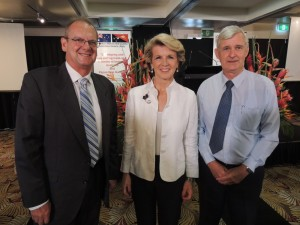 Julie Bishop and APNGBC