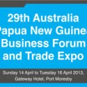 Communique from the 29th Australia PNG Business Forum and Trade Expo