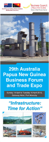 PNG Business Forum 2013